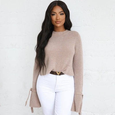 FLARE CROPPED JUMPER