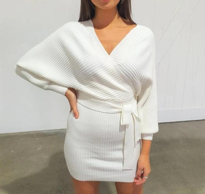 KNITTED BODYCON DRESS
