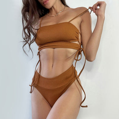 CUT OUT BIKINI SET