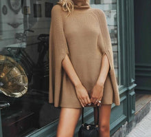 Oversized Slouchy Knitted poncho