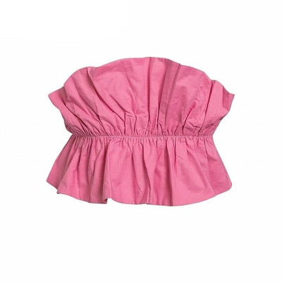 RUFFLE RUCH TOP