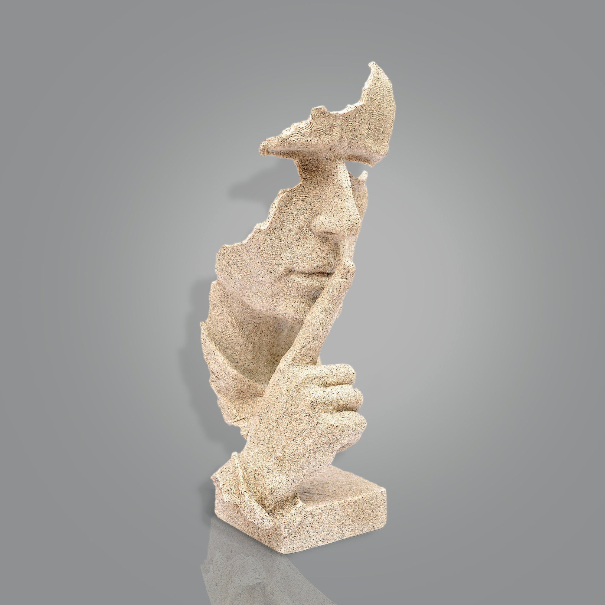 Be-Quite Face Sculpture