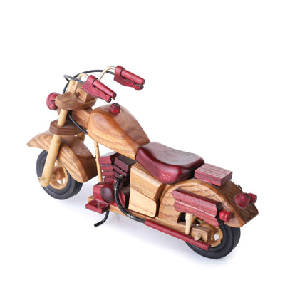 V-Rod Wooden Bike (Light Brown)