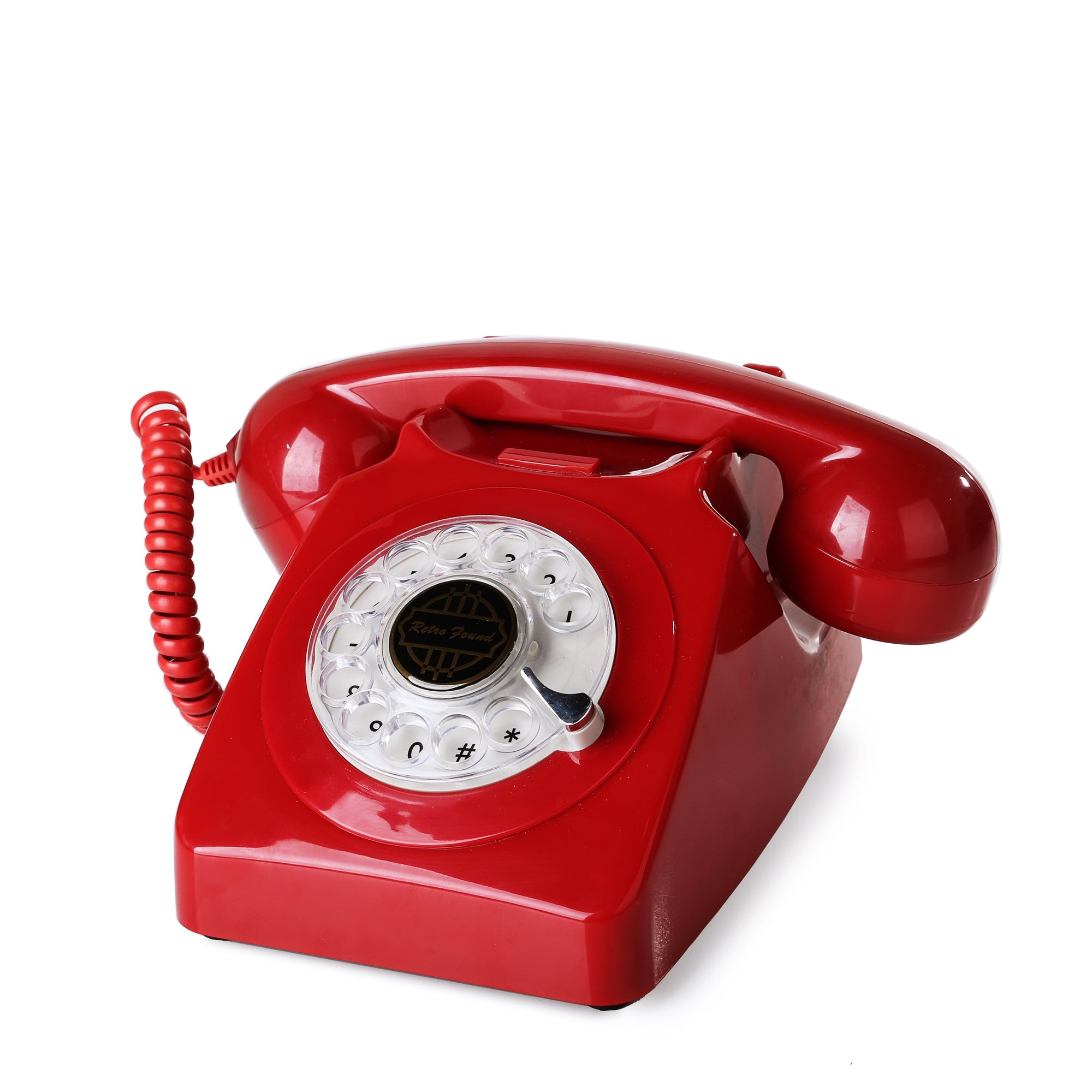 1960 Rotary Telephone (Red)