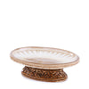Royal Embroidered Resin Bath Accessory