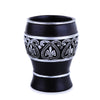 Black Royal Embroidered Resin Bath Accessory