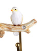 Sparrow Design Wall Key Holder (Yellow & Beige)
