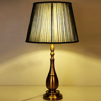 Brass Neoclassical Table Lamp