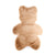 Teddy Bear Ultra Fur Bath Mat (Brown)