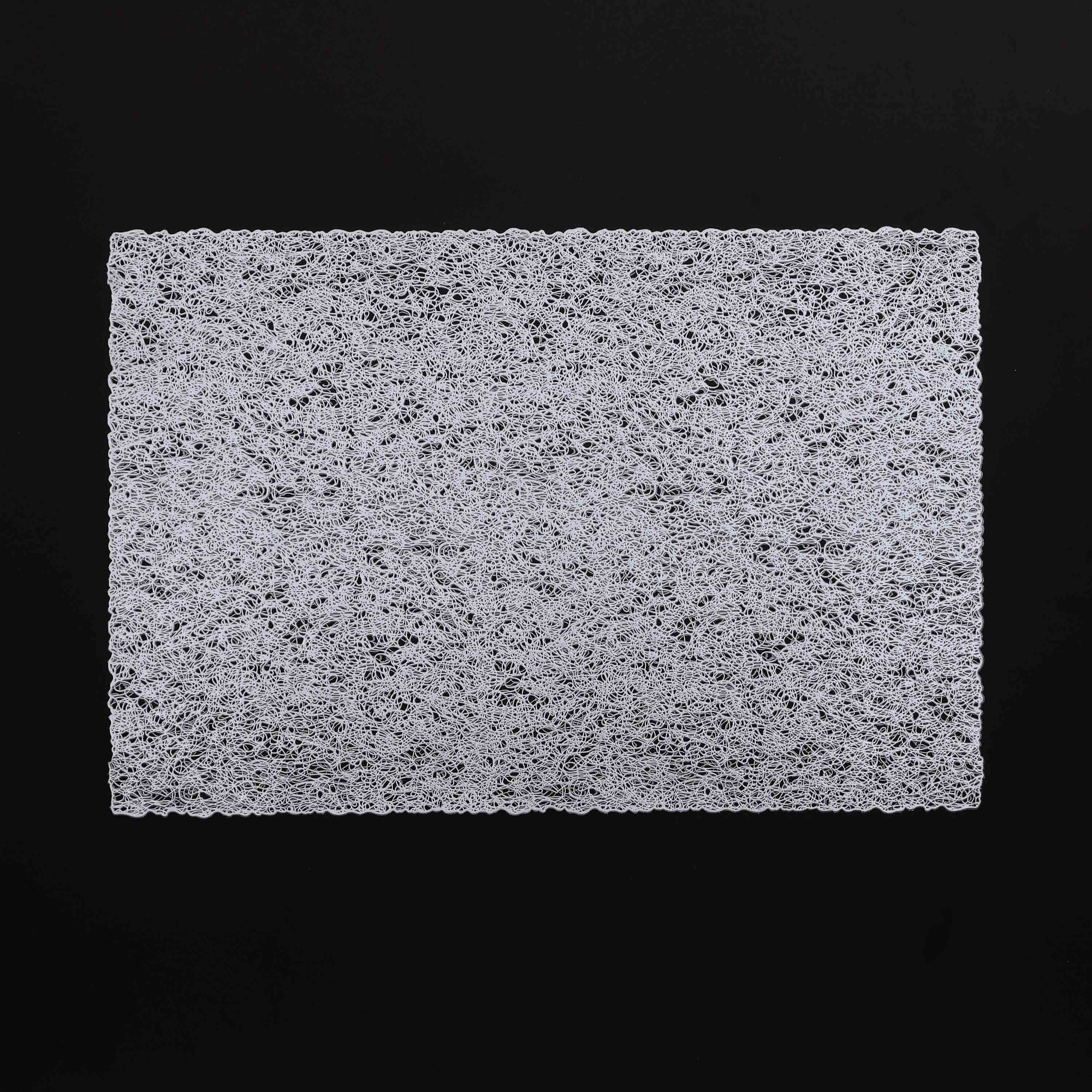 Silver tangled rectangle Table Place-mats (set of 2)