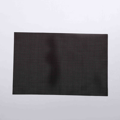 Dark grey braided rectangle Table Place-mats (set of 2)