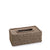 Rope Design Tissue Box (Lite Brown)