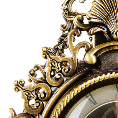 French Ornate Mantel Table Clock