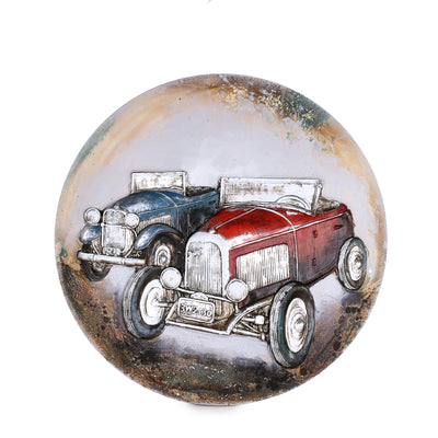 Copy of Round Embossed 1930 Ford Model A Scenery
