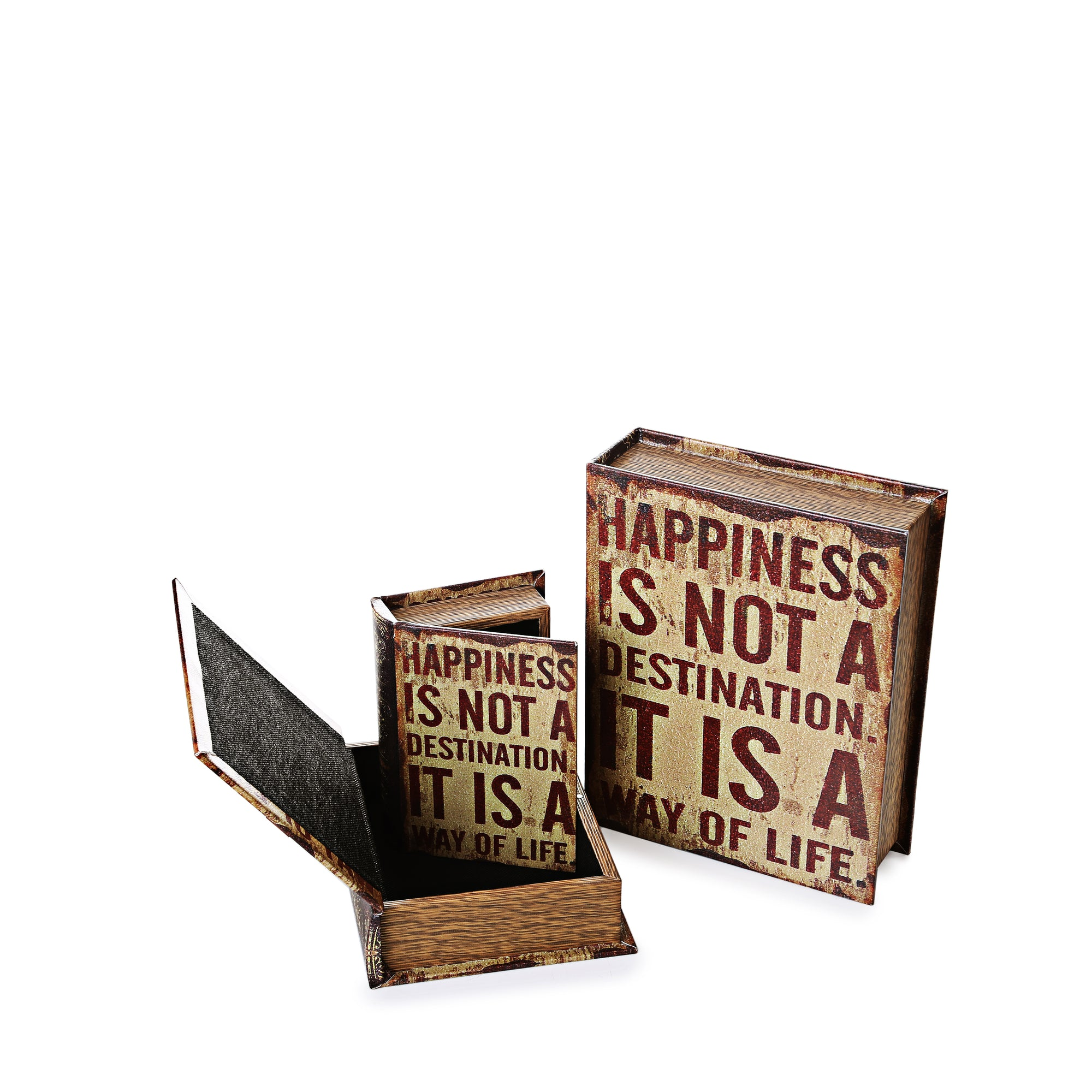 Happiness Storage Boxes (Set Of 3)