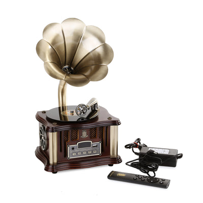 Vintage Wireless BT Gramophone