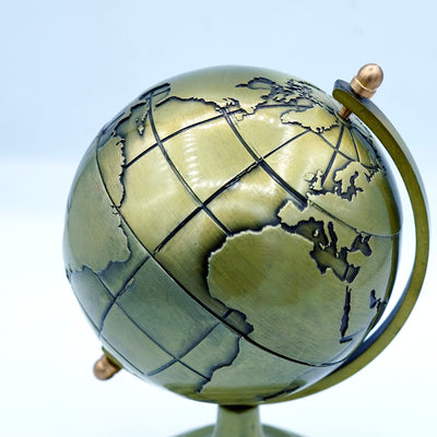 Copper world Globe
