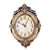 JEBELY Retro living room European style Large Clock