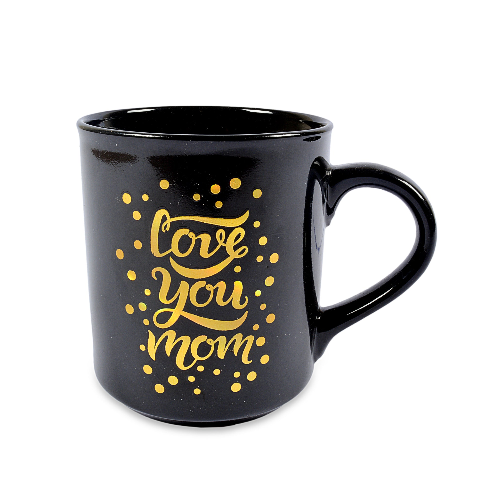 Love you Mom Questioned Ceramic Mug