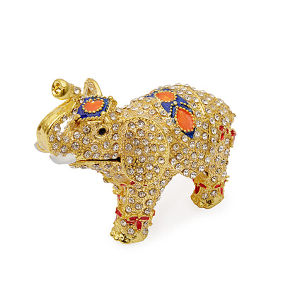 Decorative Traditional Elephant Jewelry Box