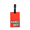 Hands Off Design Bag Tag