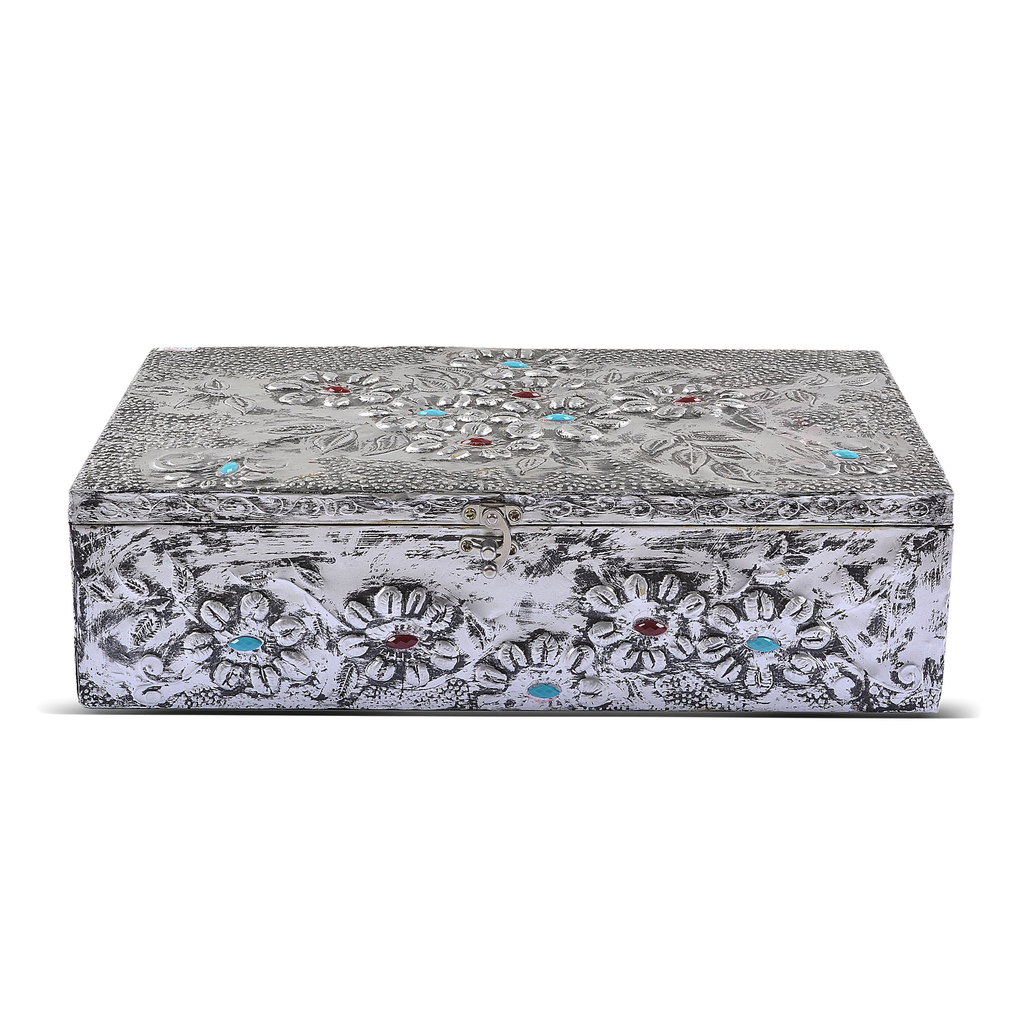 Hand-Made Aluminium Foil Jewelry Box