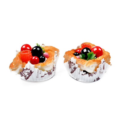 Decorative Cup Cake Fridge Magnets (Set of 2)