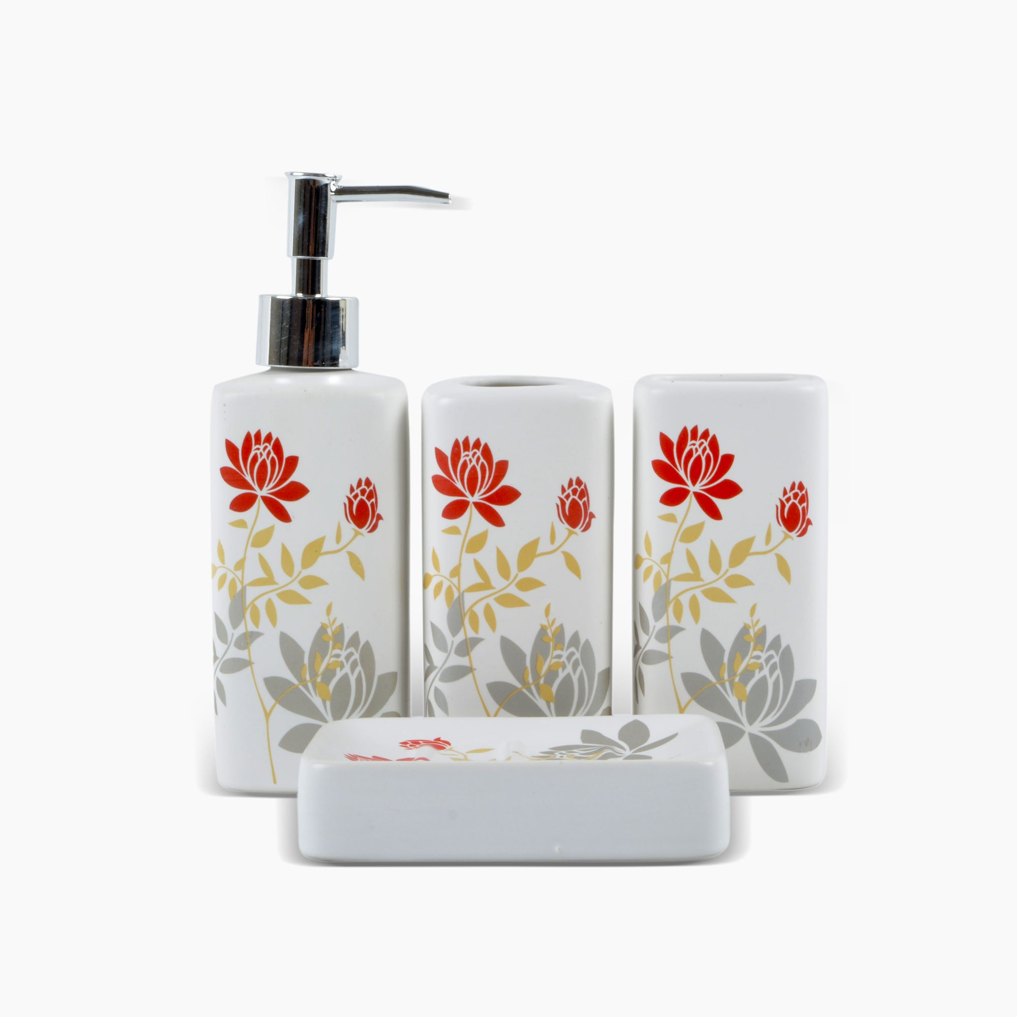 Abstract Design Bathroom Set