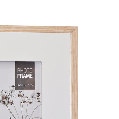 White Design Wooden Wall Hanging Photo Frame
