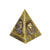 Decorative Egypt Metal Pyramid Money Box