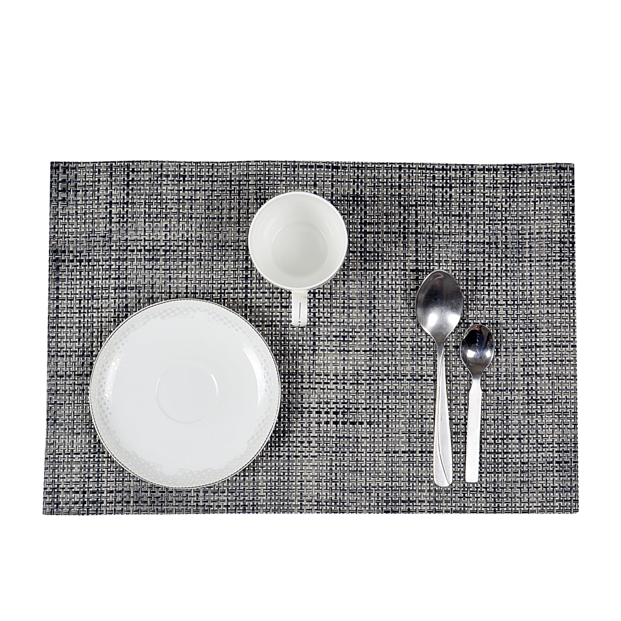 Textured Plastic Place-mat (Set of 2)