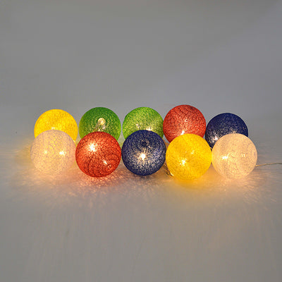 Hanging Colorful Ball Lights