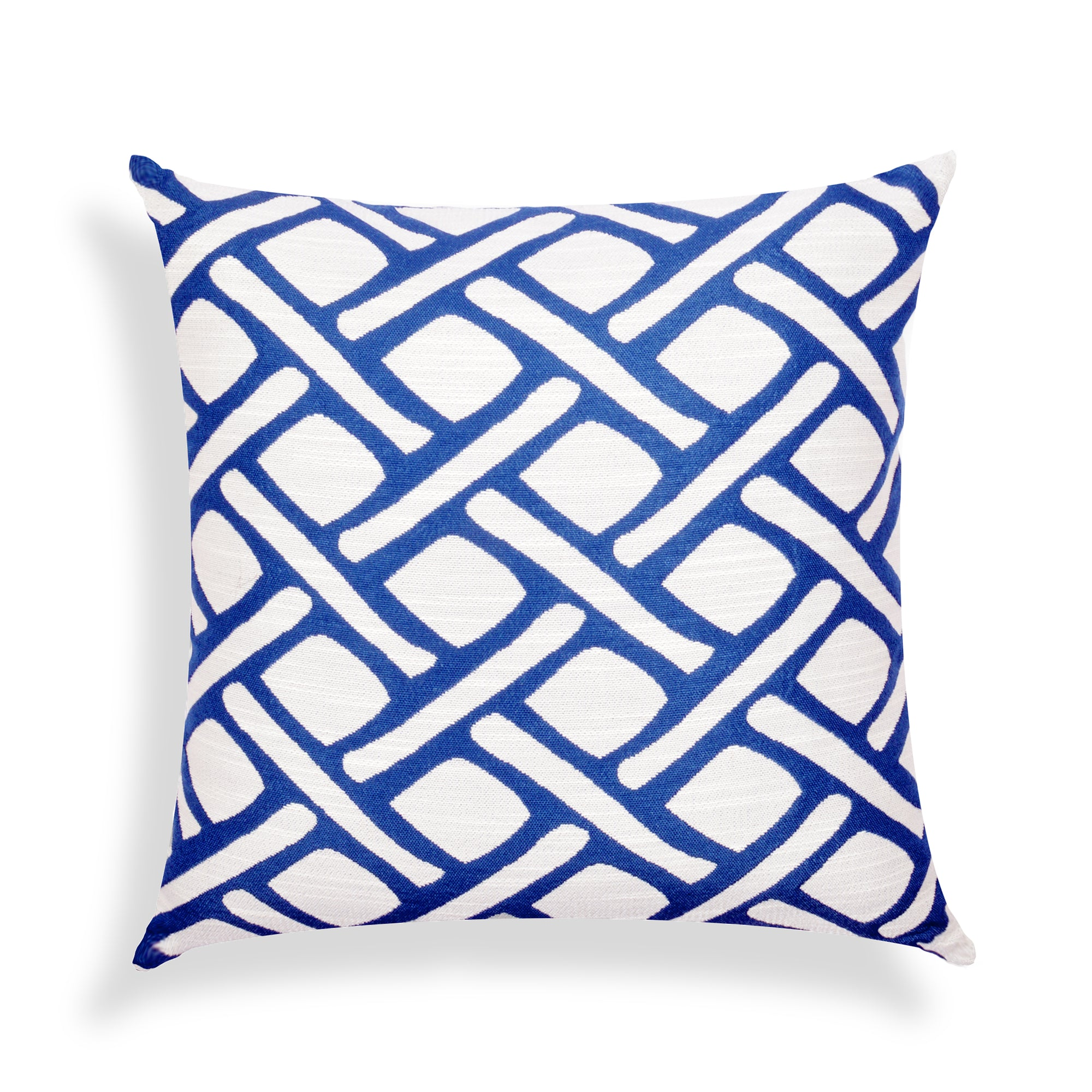 Abstract Blue Cushion Cover