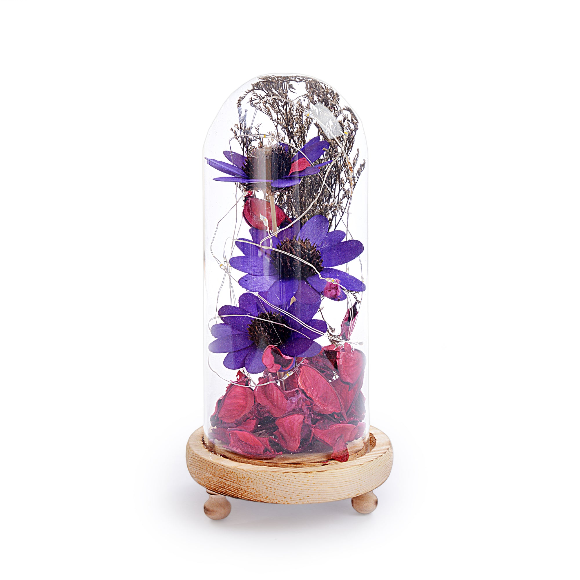 Decorative Flower Design Lightning Pot Poori