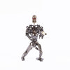 Metal Ghost Robot Statue