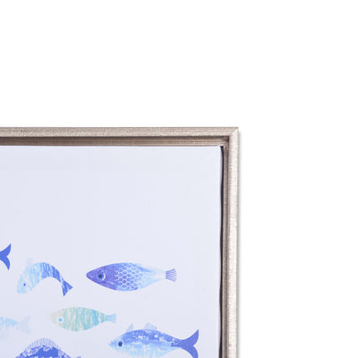 Dense Shoal of Flag Fish Decorative Wall Frame