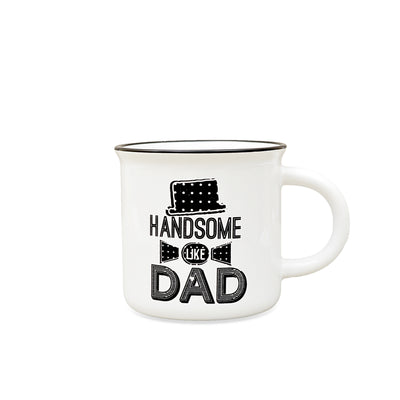 Handsome Like Dad Designed Ceramic Mug