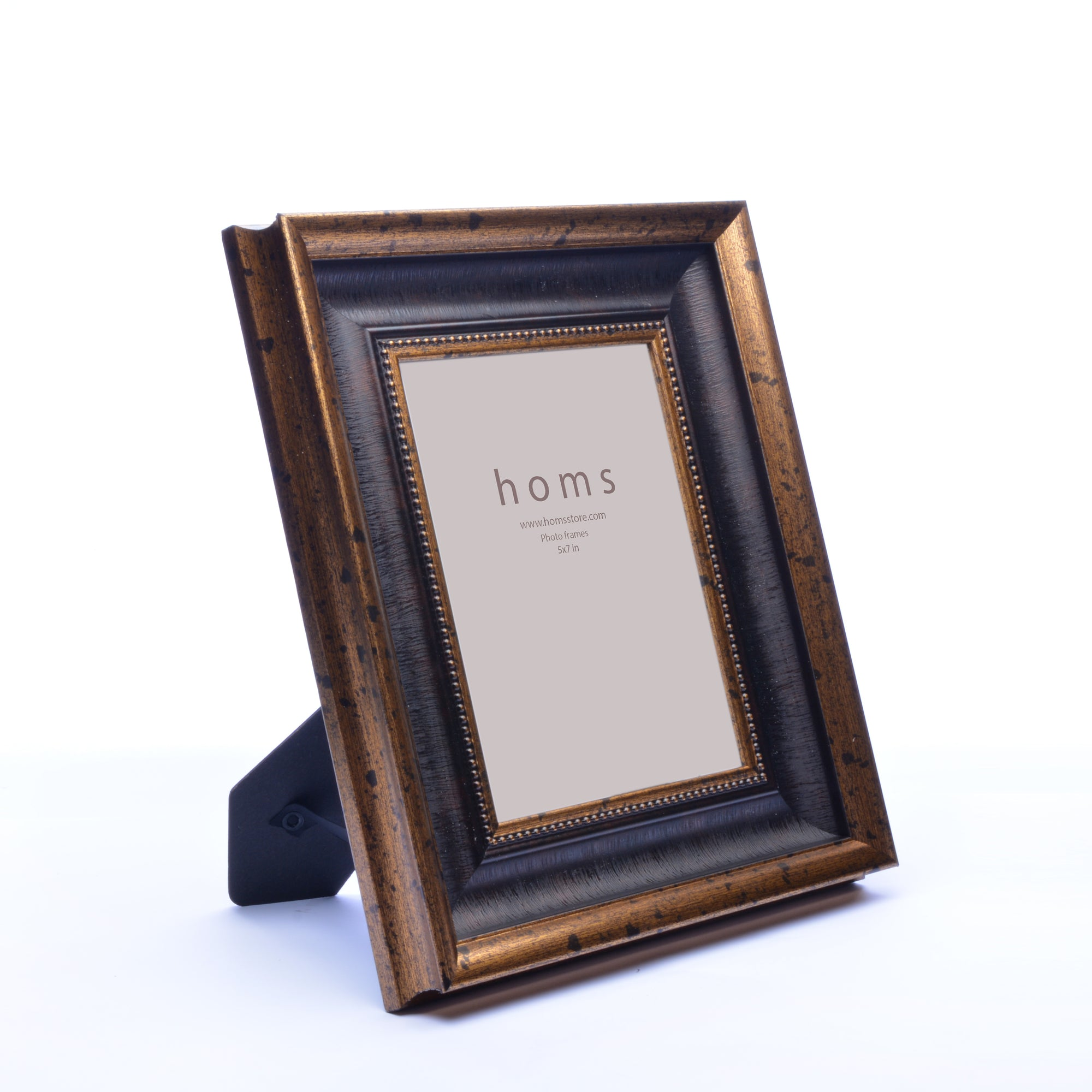 Antique Golden Textured Photo Frame