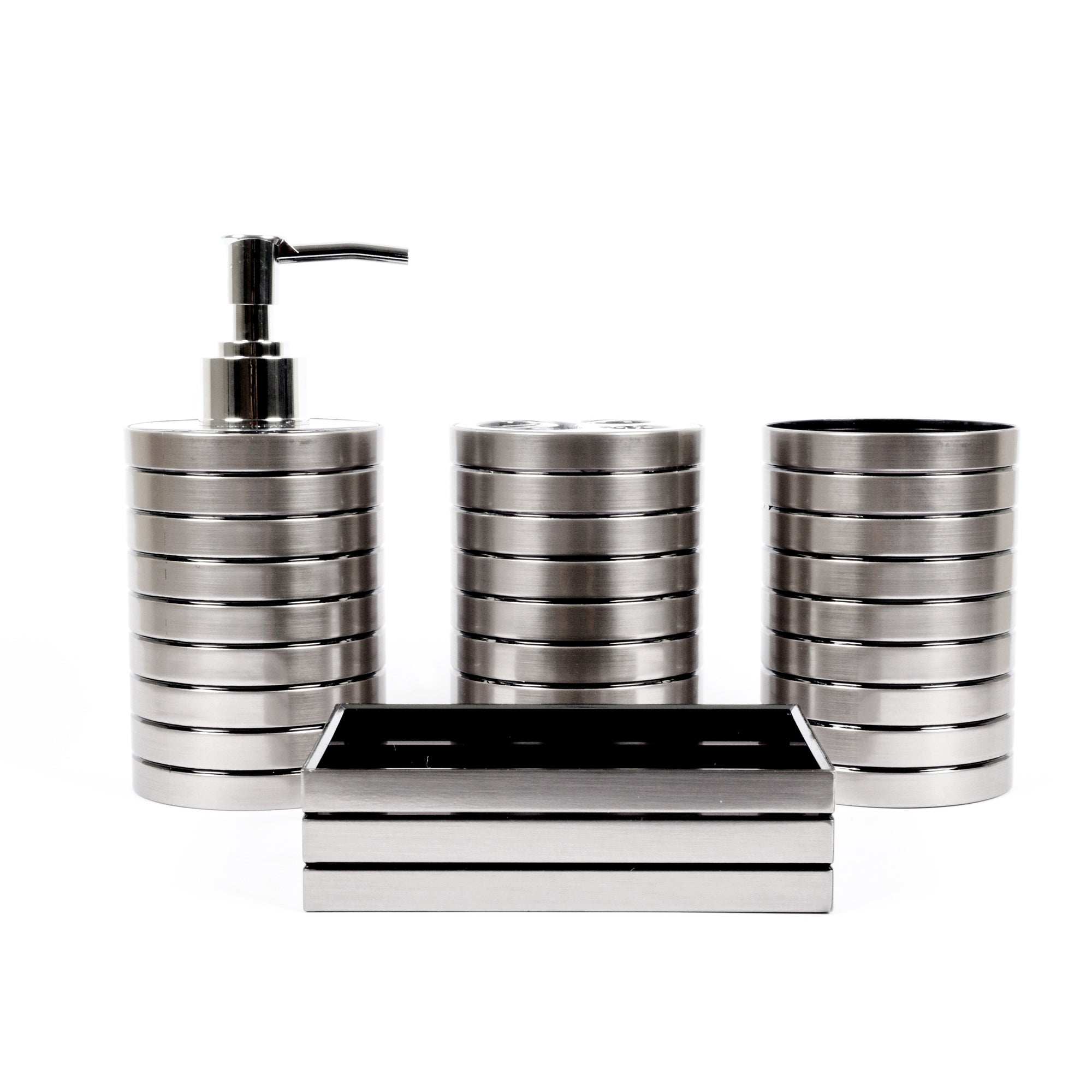 Silver Fashion Boutique Bath Set