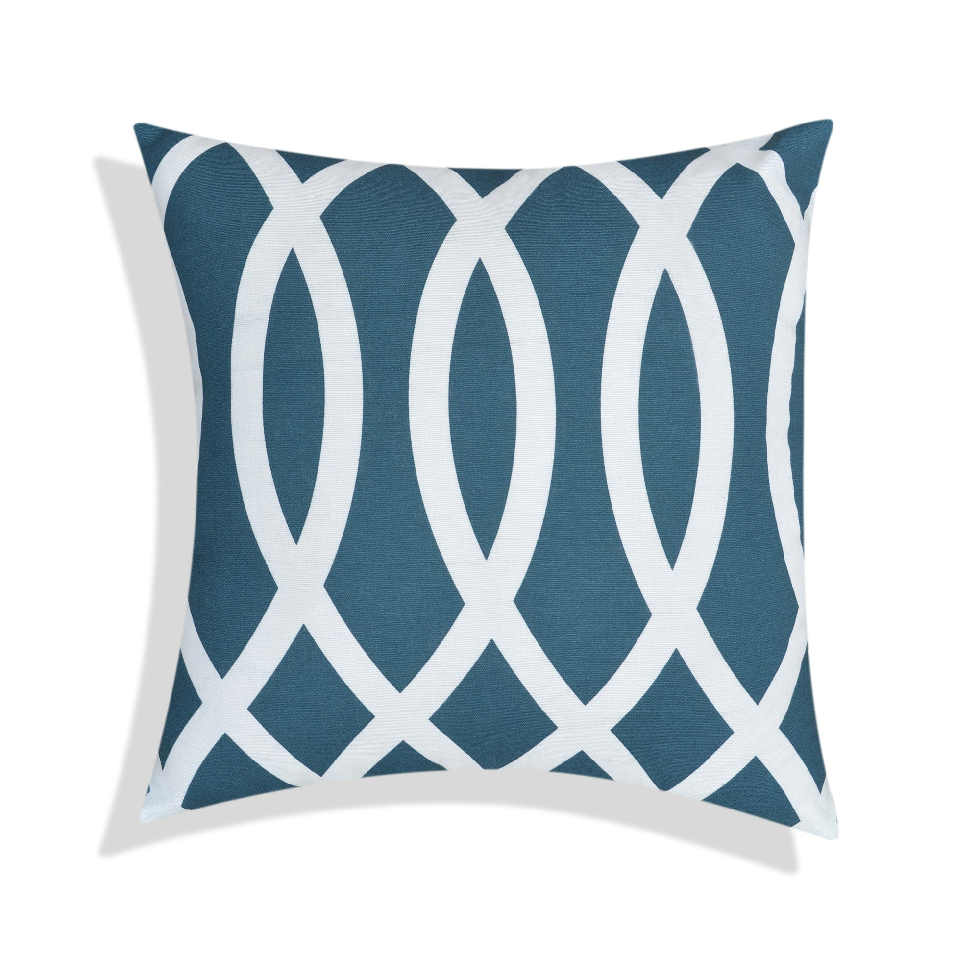Wavy Green Cushion Cover