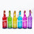 Quotation Embossed Hanging Colored LED Light Bottle