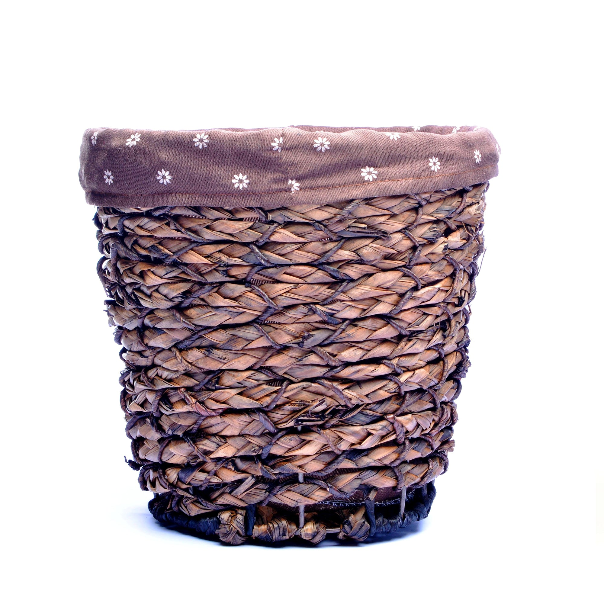 Plant Fiber Basket with tissue box