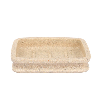 Nut Embossed Design Bath Set of 4