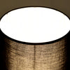 Matt Black Brass Table Lamp