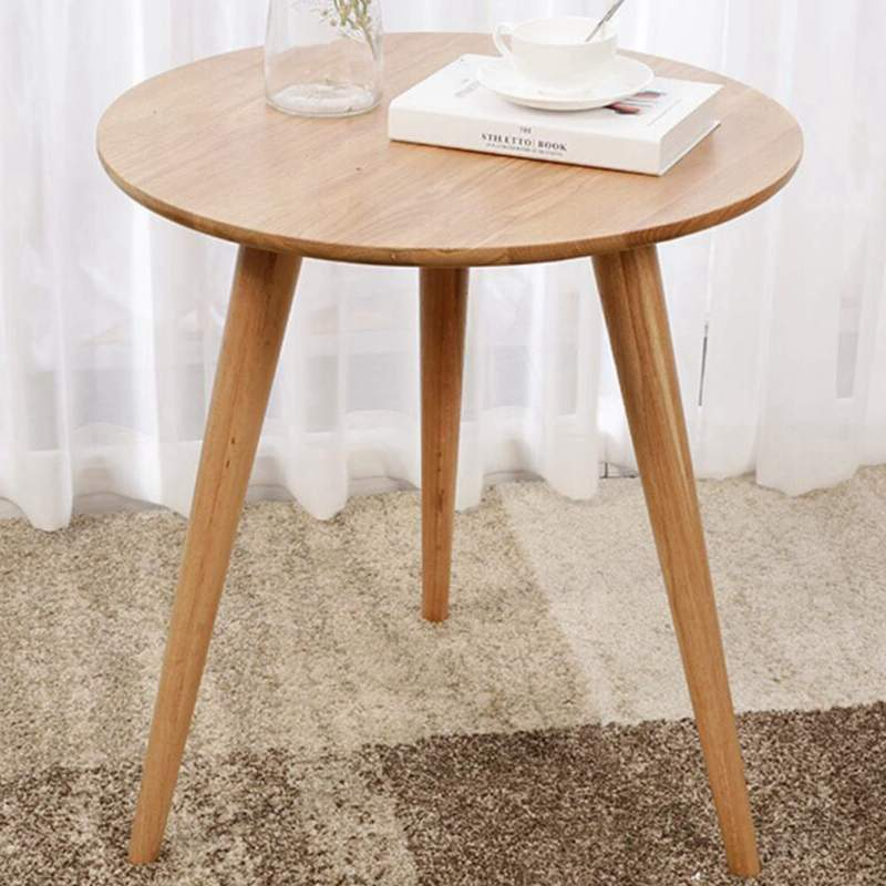 Ami Round 3-Leg Wooden Table