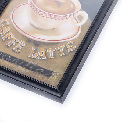 Retro Wall Canvas (Latte)