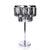 Silver Crystle Bars Table Lamps