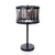 Matt Black Handeld Bars Table Lamps