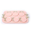 Pink Knot Tray with Coasters