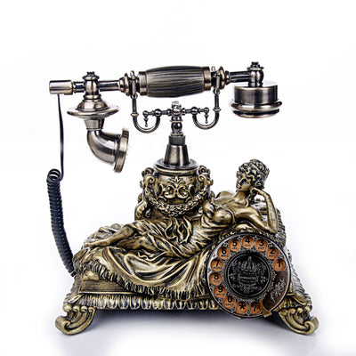 Classic Lady Vintage Style Telephone